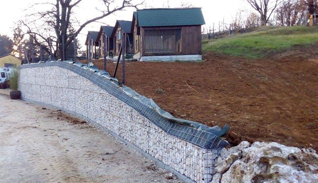 Muri Di Sostegno In Gabbioni.Muri Di Contenimento Verona Gabbioni